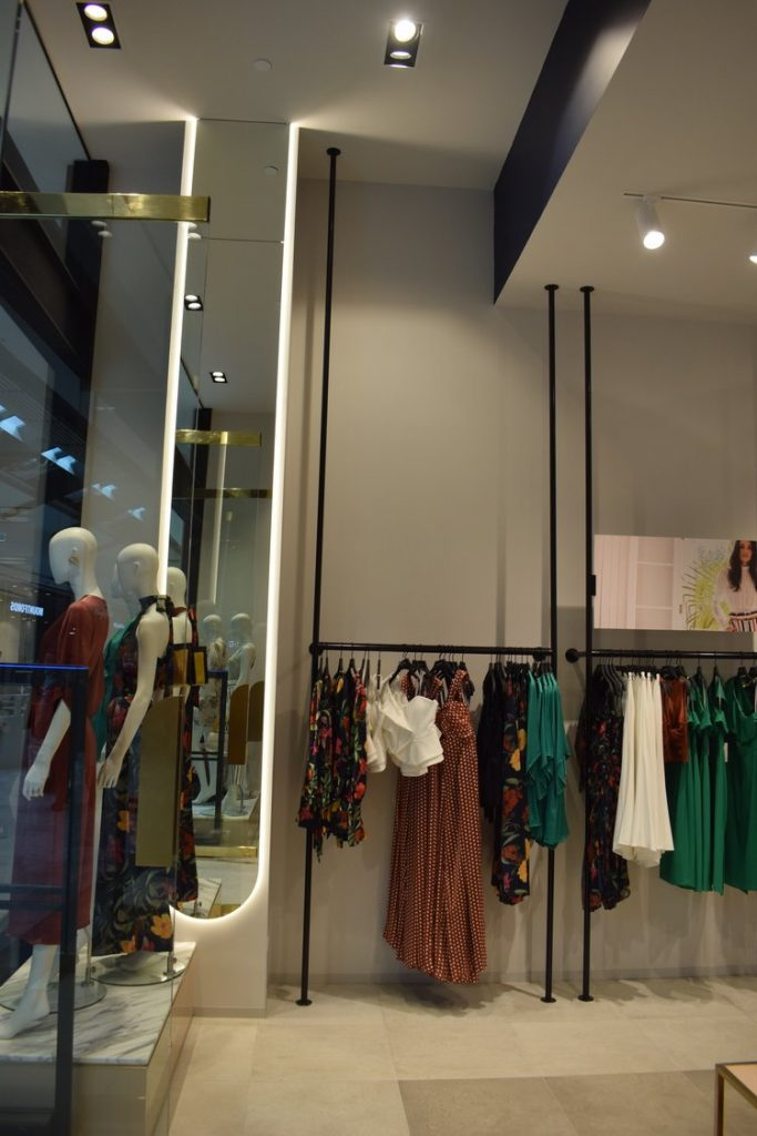 corner of shop